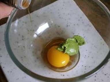 Sauce verte - Etape 1