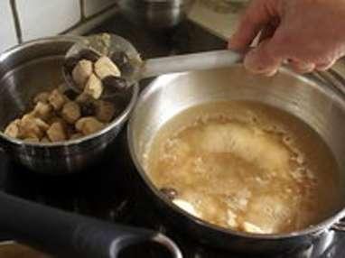 Noisettes de lapin aux olives du Liban - Etape 10