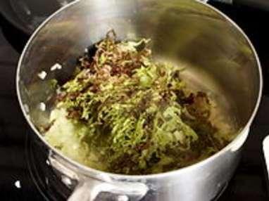 Jardinière de légumes : la préparation des légumes - Etape 12