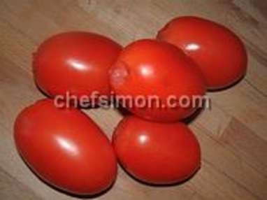 Tomates séchées - Etape 1