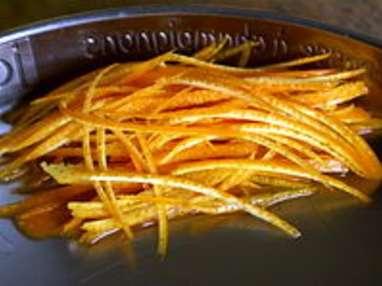Sauce bigarade à l'orange - Etape 1