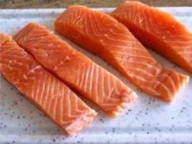 Cervelas de saumon - Etape 1