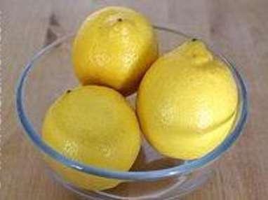 Citrons confits à l'huile d'olive - Etape 1