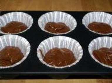Cupcakes chocolat noir - Etape 5