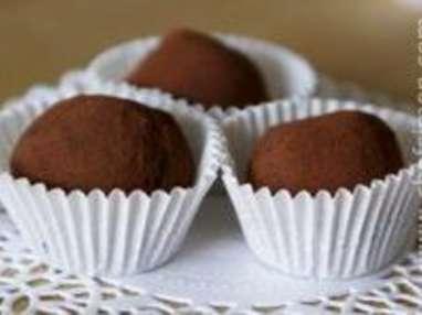 Truffes chocolat gingembre et poivre - Etape 11