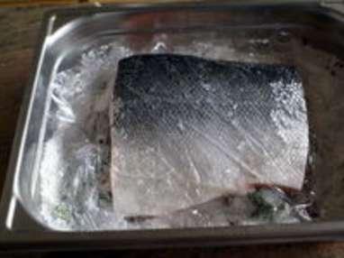 Gravlax de saumon - Etape 7