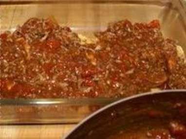 Lasagnes à la bolognaise - Etape 6