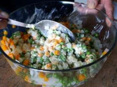 Macédoine de légumes - Etape 10