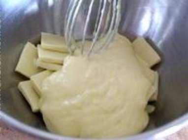 Mousse chocolat blanc - Etape 3