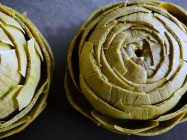 Artichaut à la vinaigrette - Etape 8
