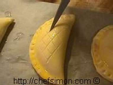 Chaussons aux pommes - Etape 10
