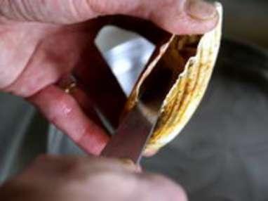 Ouvrir et décoquiller une coquille Saint Jacques - Etape 5
