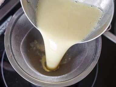 Glace vanille - Etape 7