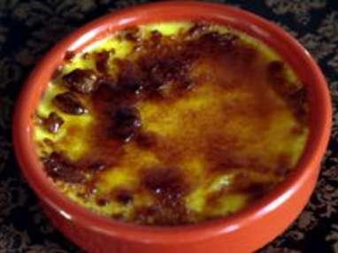 Caraméliser une crème brûlée - Etape 5