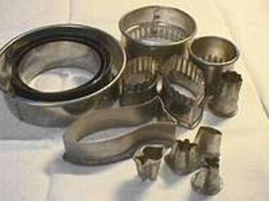 Les moules et emporte-pièces - Etape 16