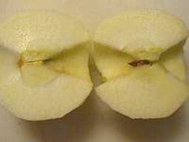Eplucher et évider une pomme - Etape 6