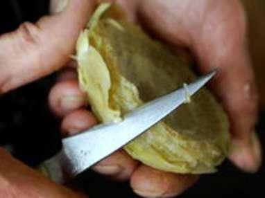 Cuire et parer un fond d'artichaut - Etape 8