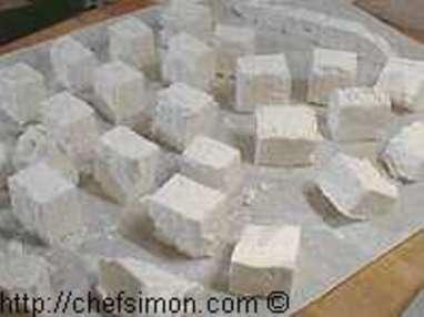 Guimauves enrobées chocolat - Etape 6