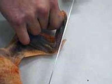 Habiller une volaille - Etape 4