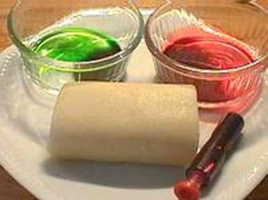 colorer de la pte damande etape 1 - Colorer Pate Amande