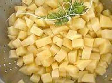 Tailles des pommes de terre - Etape 4