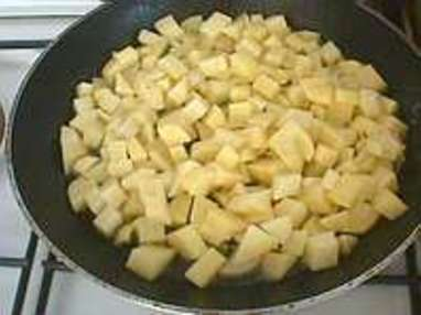 Pommes sautées à cru - Etape 2
