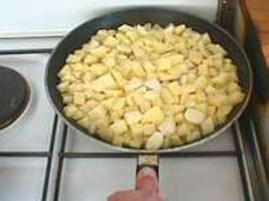 Pommes sautées à cru - Etape 4