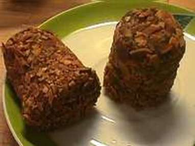 Rochers au chocolat praliné - Etape 3