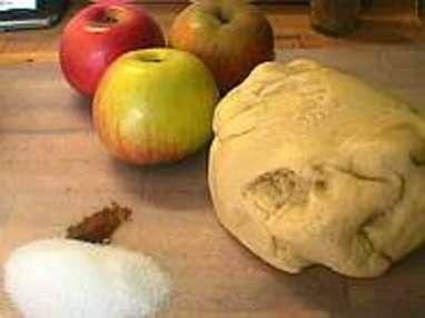 Tarte fine aux pommes - Etape 1