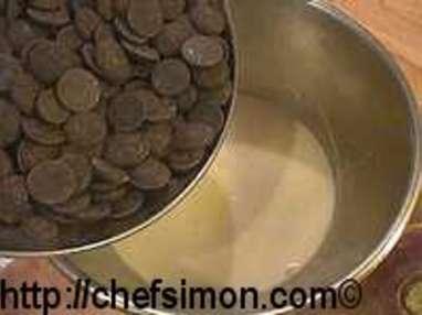 Truffes chocolat gingembre et poivre - Etape 6