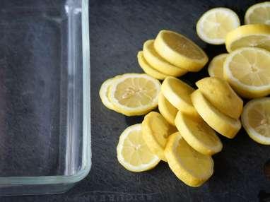 Achards de citrons et gingembre - Etape 1