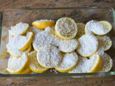 Achards de citrons et gingembre - Etape 2