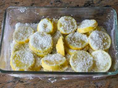 Achards de citrons et gingembre - Etape 3