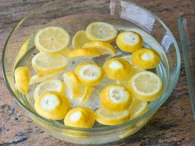 Achards de citrons et gingembre - Etape 4
