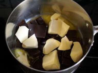 Brownie aux noix fraîches et spéculoos - Etape 1