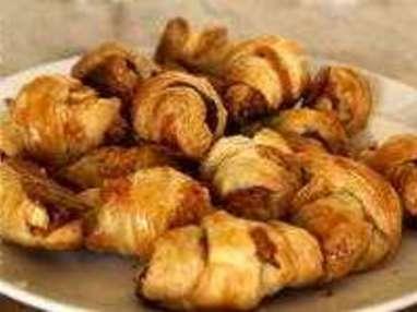 Minis croissants apéritifs - Etape 10