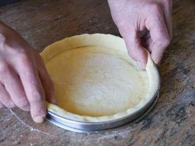 Foncer un cercle à pâtisserie - Etape 8