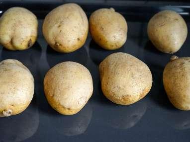 Pommes de terre au four - Etape 1