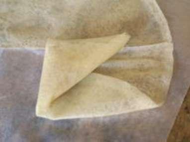 Samoussas framboises chocolat blanc - Etape 9