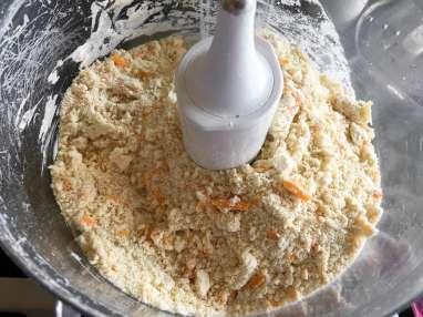 Scones moutarde et mimolette - Etape 1