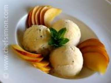 Glace italienne aux fruits exotiques