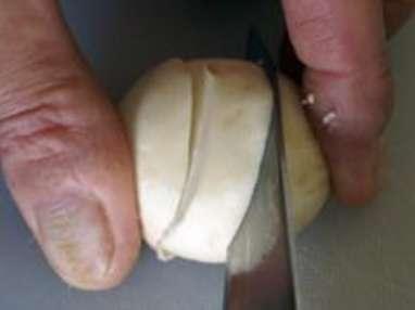 Taille des champignons - Etape 5