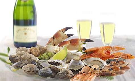 Préparer un plateau de fruits de mer
