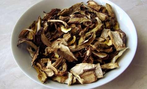 Les champignons séchés