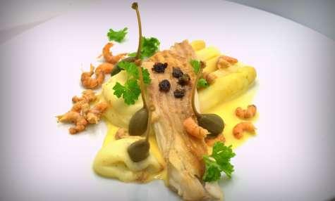Recettes d 39 asperges blanches id es de recettes base d - Cuisiner le loup de mer ...