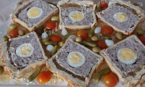 Pâté de Pâques gourmand