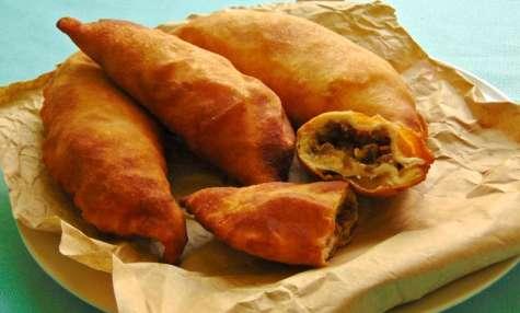 Panzerotti frits à la mode de Bari et de Brindisi