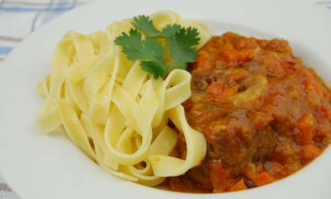 Recettes de jarret de veau et de cuisine italienne - Cuisine italienne osso bucco ...