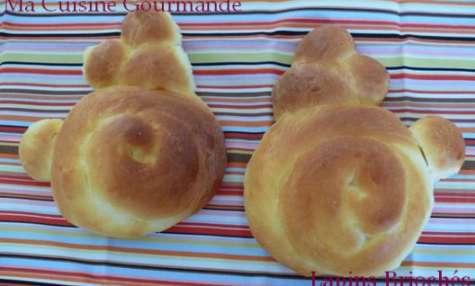 Petits Lapins de Pâques Briochés