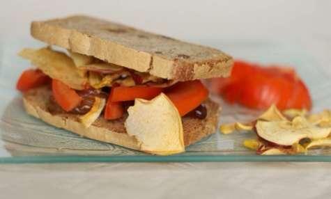 Le sandwich végétarien